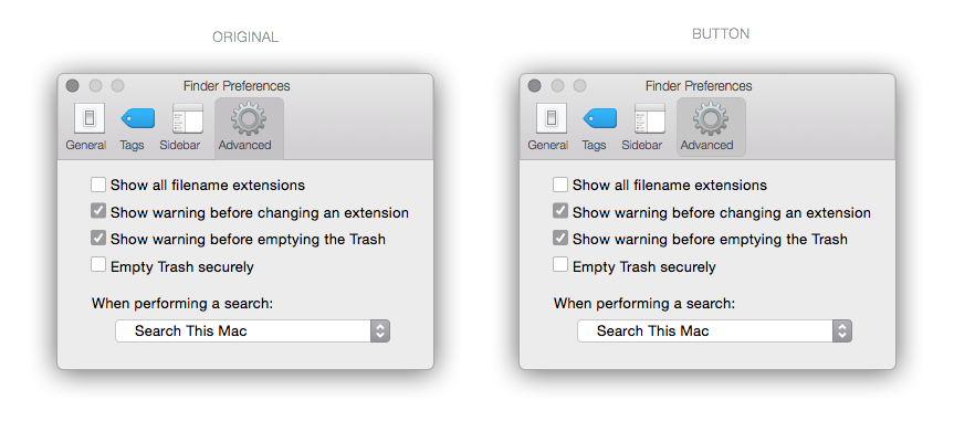 Finder Button